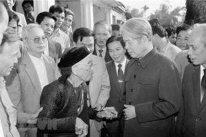Những câu chuyện bình dị, gần dân của cố Tổng Bí thư Đỗ Mười