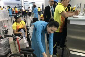 Hậu trường phục vụ đoàn thể thao VN dự Para Games