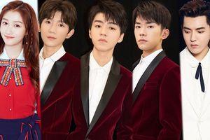 TFBOYS, Ngô Diệc Phàm, Lý Vũ Xuân và Quan Hiểu Đồng trong chương trình mừng 'National Day'