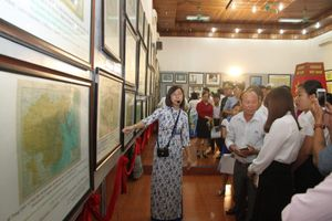 Quảng Trị: Triển lãm 'Hoàng Sa, Trường Sa của Việt Nam- Những bằng chứng lịch sử và pháp lý'