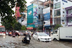 Hải Phòng: Khắc phục những điểm úng, ngập nước mưa trên địa bàn