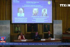 Công bố giải Nobel Vật lý 2018