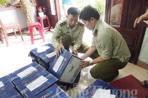Đà Nẵng: Tạm giữ 252 chai rượu ngoại không có hóa đơn chứng từ