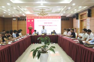 Quảng Ninh: Hội nghị giao ban báo chí tháng 10/2018