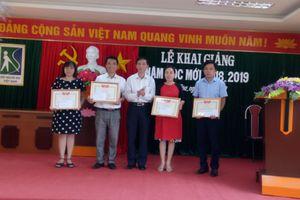 Thanh Hóa: Trung tâm Giáo dục dạy nghề cho người mù khai giảng năm học mới