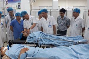 Cấp cứu kịp thời cho các nạn nhân bị tai nạn tại Yên Nghĩa