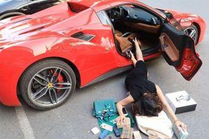 Đến bà chủ showroom danh tiếng tại Hà Nội cũng bị cuốn vào trào lưu 'ngã sấp mặt' cùng siêu xe