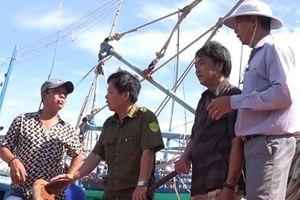 Nỗ lực đảm bảo an toàn phòng cháy ở cảng cá Tam Quan