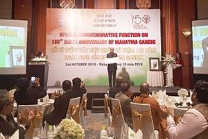 Kỷ niệm 150 năm ngày sinh Mahatma Gandhi