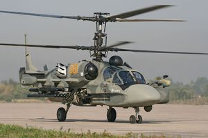 Cận cảnh trực thăng 'cá sấu' Kamov Ka-52 rất lợi hại của quân đội Nga