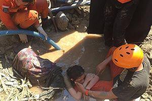 Indonesia bước đầu tiếp cận được vùng sâu, vùng xa sau động đất