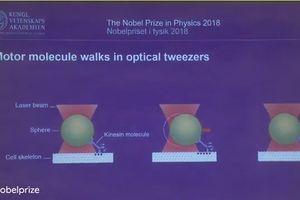 Giải Nobel Vật lý 2018 thuộc về Mỹ, Pháp, Canada với nghiên cứu laser