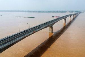 Chốt ngày thông xe cầu Việt Trì - Ba Vì hơn 1.460 tỷ đồng bắc qua sông Hồng