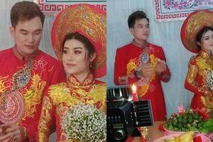 Lễ cưới ở quê của 'ca sĩ hội chợ' Lâm Chấn Huy và cô dâu 9X