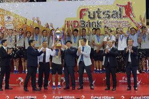Futsal HDBank VĐQG 2018: Thắng kình địch, Sanatech Sanest Khánh Hòa giành ngôi Á quân