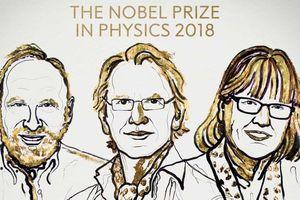 Nobel Vật lý 2018 tôn vinh các phát minh về laser