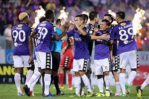 Hà Nội FC đón Cúp vô địch V-League 2018