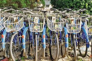 Hà Nội: Xe đạp công cộng bị 'ngó lơ' sau 4 năm triển khai!