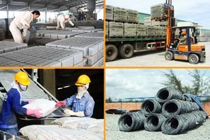 Cuối năm, vật liệu xây dựng khó tăng giá