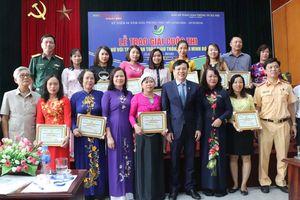 Nữ thủ lĩnh dân tộc Mường giành giải Nhất cuộc thi về trật tự an toàn giao thông