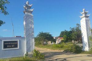 Đà Nẵng: Di tích đình làng Hòa Mỹ thành nơi tập kết vật liệu xây dựng