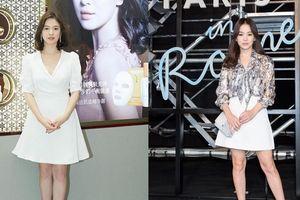 Người đầy khiếm khuyết, Song Hye Kyo vẫn là 'quốc bảo nhan sắc' nhờ khéo mặc