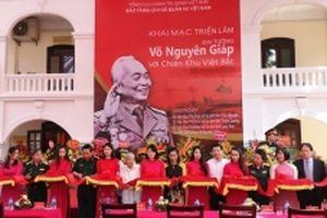 Triển lãm 'Đại tướng Võ Nguyên Giáp với chiến khu Việt Bắc'
