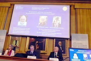 Những phát minh vật lý laser được tôn vinh ở giải Nobel vật lý