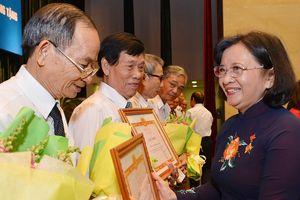 Họp mặt truyền thống Ban Tuyên huấn Khu ủy Sài Gòn - Gia Định