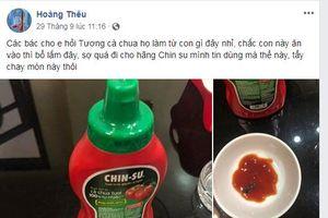 Tương cà Chin-su Masan nghi có gián: Người tiêu dùng bàng hoàng đòi 'tẩy chay'