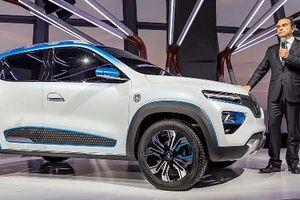 Renault K-ZE - xe điện giá rẻ tại triển lãm ôtô Paris 2018