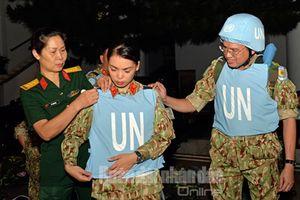 Hành trình sứ mệnh hòa bình của chiến sĩ 'mũ nồi xanh' Việt Nam