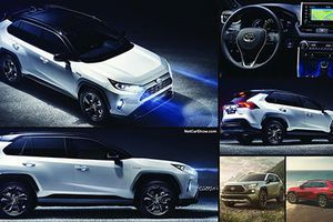 Chi tiết xe Toyota Rav4 Hybrid mạnh tới 219 mã lực