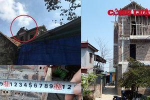 Thanh Thủy - Phú Thọ: Ngang nhiên xây dựng lấn chiếm lối đi chung