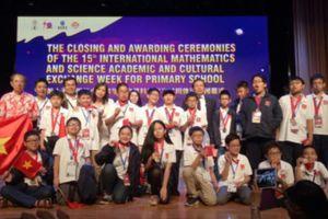 Học sinh Việt Nam giành 8 huy chương vàng kỳ thi Toán và Khoa học quốc tế
