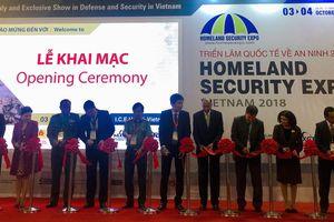 Triển lãm Quốc tế về An ninh 2018: Quy tụ công nghệ tối tân nhất thế giới tại Việt Nam