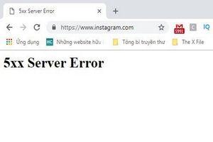 Mạng xã hội Instagram sập trên toàn cầu
