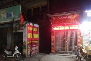 Hà Nội: Nghi án cướp tiệm vàng giữa ban ngày