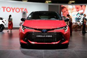 Ảnh thực tế Toyota Corolla thế hệ mới trình diện tại châu Âu