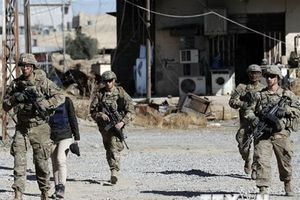 Quân đội Mỹ-Thổ Nhĩ Kỳ tập luyện cho tuần tra chung ở Manbij của Syria