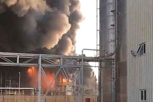 Cháy công ty hóa dầu ở Saudi Arabia, 12 người thương vong