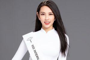 Hoa hậu Nhân ái Thùy Tiên thay Á hậu Thúy An thi Miss International