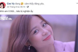 MC Cao Vy bất ngờ đăng tải clip xinh đẹp kèm theo lời cảnh báo dí dỏm 'nhìn em ít thôi… kẻo bị nghiện ấy'