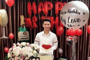 Hot: Không còn là tin đồn, trung vệ Bùi Tiến Dũng chính thức thừa nhận là 'hoa có chủ' vào đúng ngày sinh nhật
