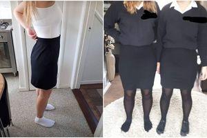 Quy định cực tróe ngoe khi chỉ vì mặc chân váy để lộ đường cong cơ thể, nữ sinh bị phạt cấm đến trường học