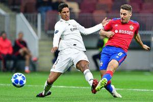 Vắng Ronaldo, Real Madrid thua sốc trước CSKA Moscow dù chơi áp đảo