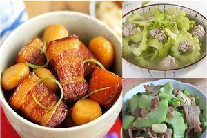 Gợi ý 3 món ăn ngon miệng, giàu dinh dưỡng cho bữa cơm gia đình