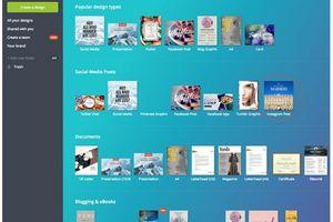 Hỗ trợ thiết kế online với công cụ Canva