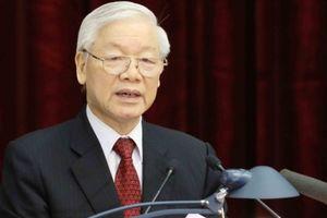 100% đại biểu giới thiệu Tổng Bí thư Nguyễn Phú Trọng để Quốc hội bầu giữ chức vụ Chủ tịch nước