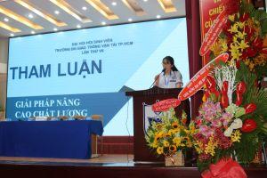 Trường Đại học Giao thông vận tải TP. Hồ Chí Minh: Tổ chức thành công Đại hội đại biểu Hội sinh viên lần thứ VII nhiệm kỳ 2018 – 2020